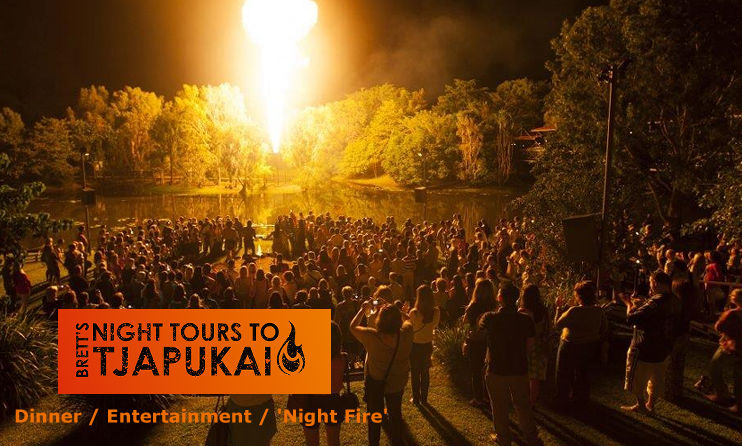 Outback Tasting Tours Tjapukai Night Tour