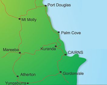 Map Of Australia Port Douglas.Outback Tasting Tours Port Douglas